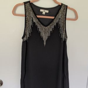 Ya LA beaded black shift